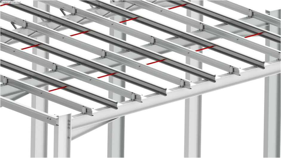 Anti sag support for flat roofs - Duggan Steel Group