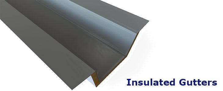 Insulated Gutters Duggan Steel