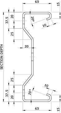 Duggan Profiles - Purlins and Rails