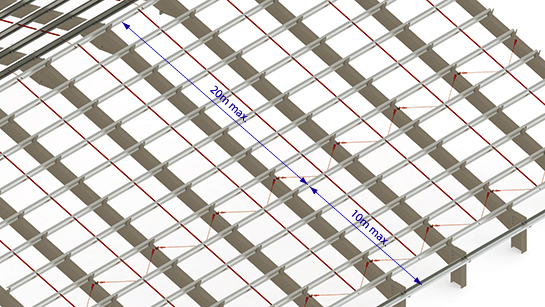 Prosigma Anti Sag Support For Standard Roof Duggan Steel
